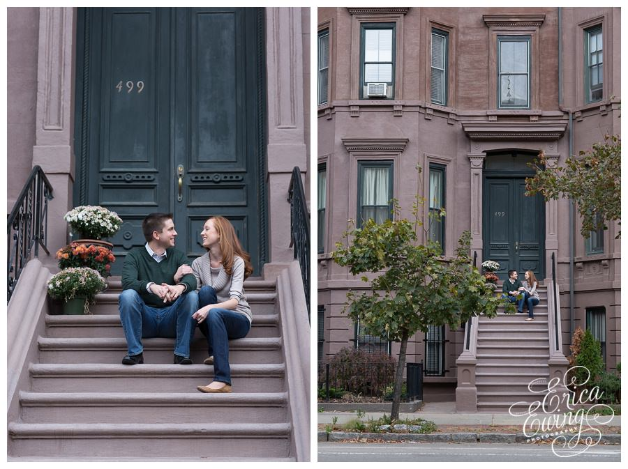 South End Boston Engagement Session