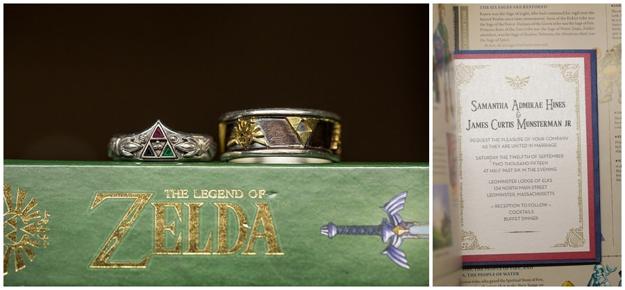 James & Sam's Unique Zelda Wedding | Bolton MA Wedding