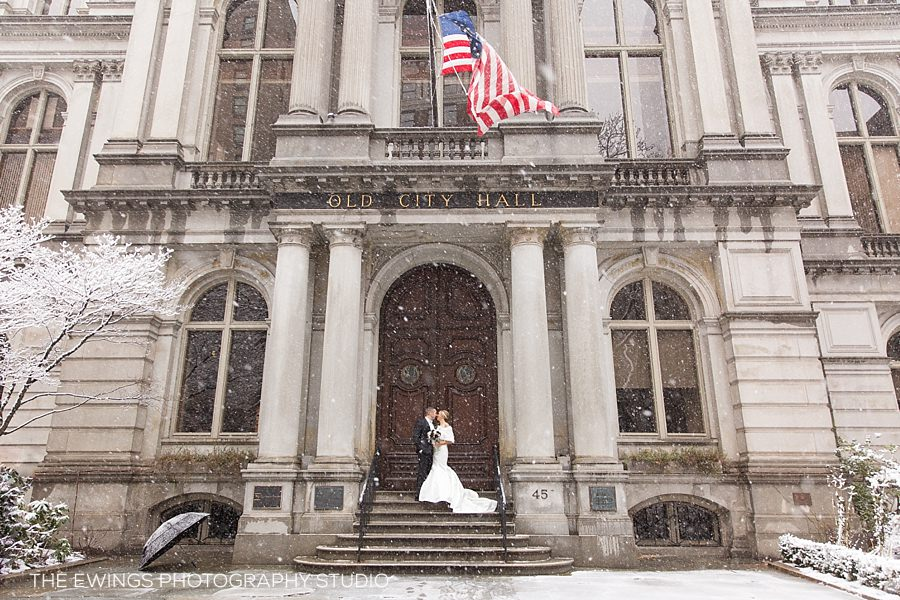 Mike & Cassie's Magical Winter Wedding