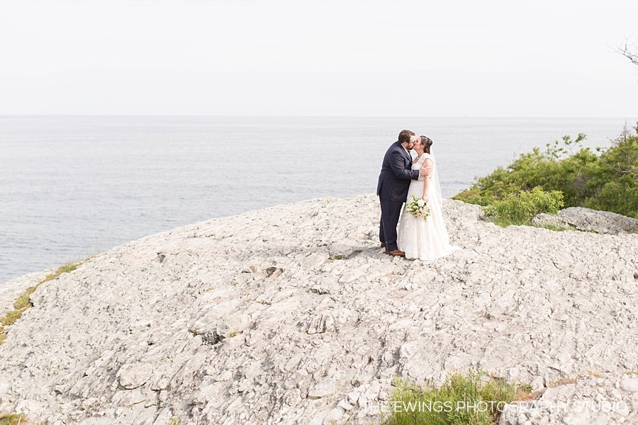 Meredith & Brandon's Atlantic Resort Wedding in Newport RI