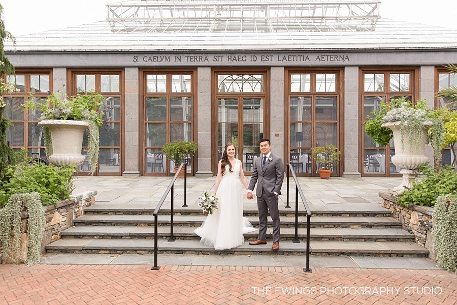 Kevin + Kelly's Tower Hill Botanic Garden Wedding
