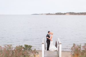 An oceanfront Cape Cod wedding venue in Chatham - Wequasset Resort wedding