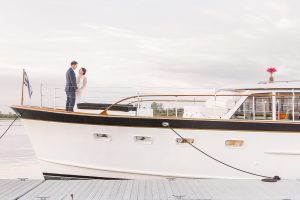 Boston Yacht wedding East Coast destination wedding photography