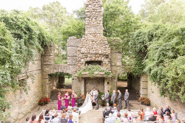 gibbet hill castle wedding ceremony