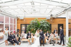 wedding party pictures at Providence G