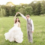 backyard wedding photography at lukas barn by Bolton MA photographers