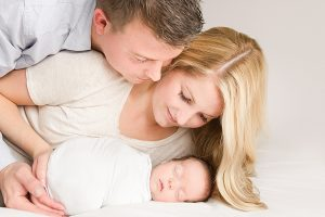 newborn photography session at the Ewings studio in bolton ma