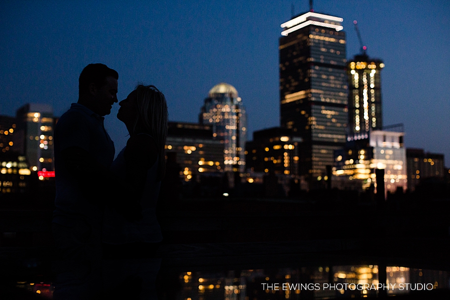 Night portraits in downtown Boston