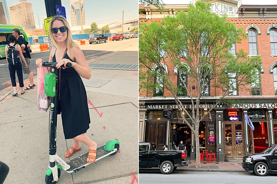 Lime Scooters are the way to get around in Nashville!