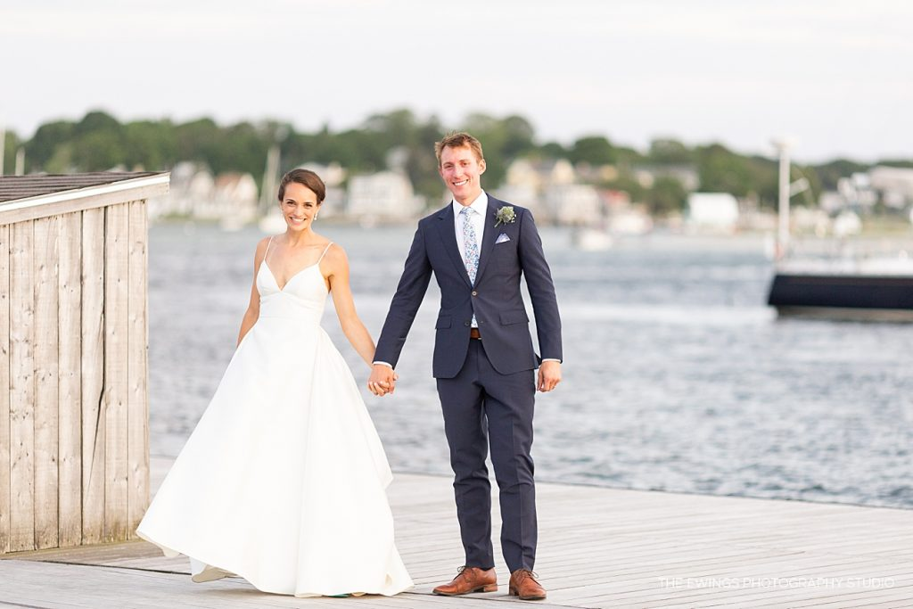 Gloucester MA is similar to Maine when it comes to oceanfront wedding venues. They are nautical and classic, with a special character!