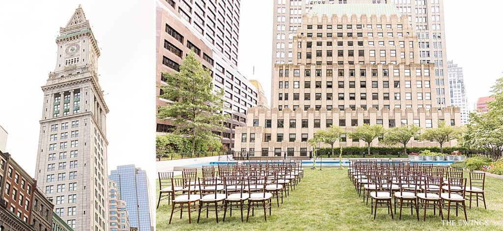 9OFS is a unique rooftop wedding venue in downtown Boston.