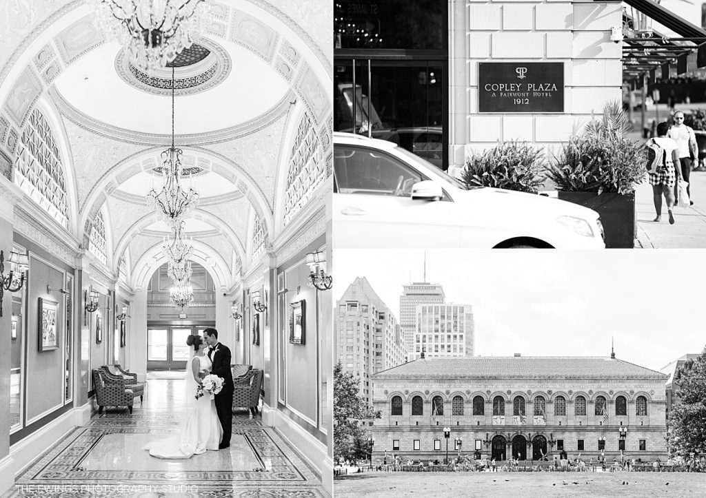 From the Fairmont Copley Wedding to the Boston Public Library, Copley Square has two gorgeous wedding venues!