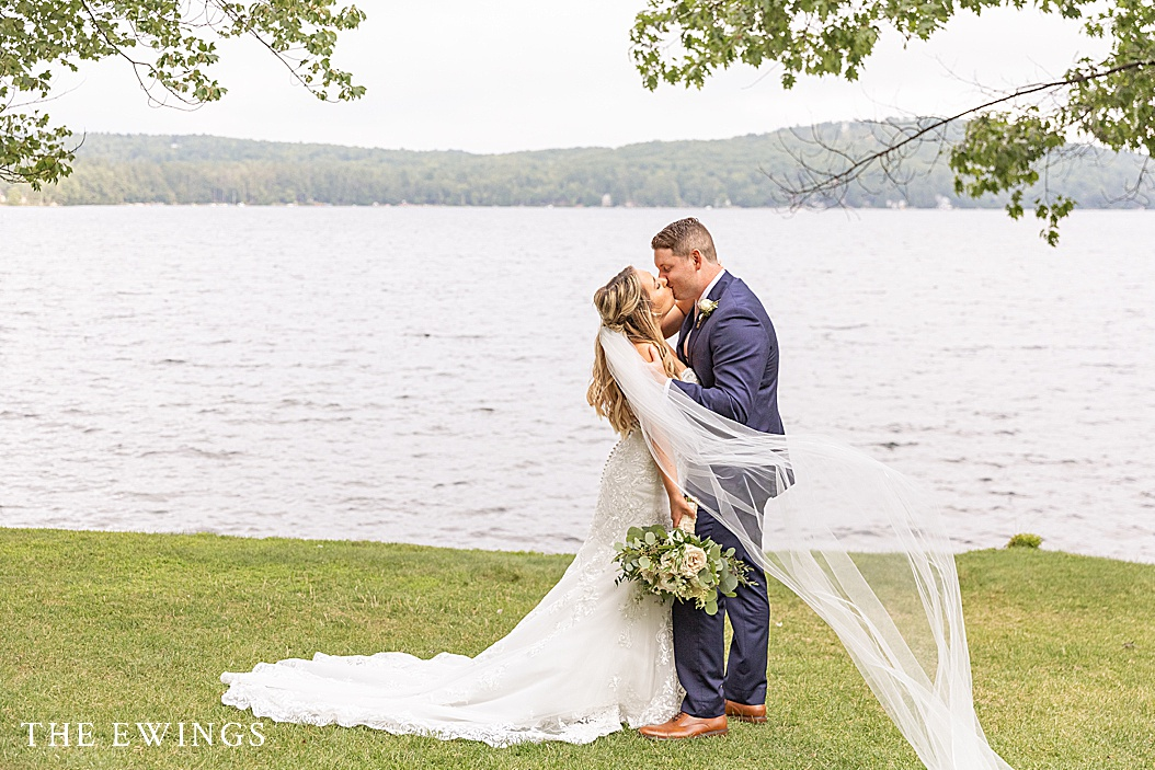 A Church Landing wedding on Lake Winnipesaukee.