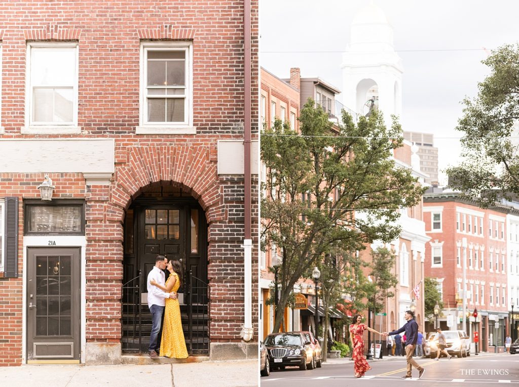 A fun Boston Engagement Session by Boston's best wedding and engagement photographer, The Ewings Photography Studio.