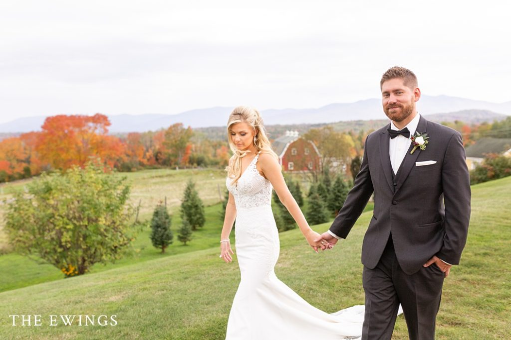 Bright and airy wedding pictures at Mountain View Grand Hotel.