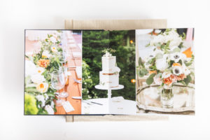 Boston wedding photographers who specialize in printed wedding albums.