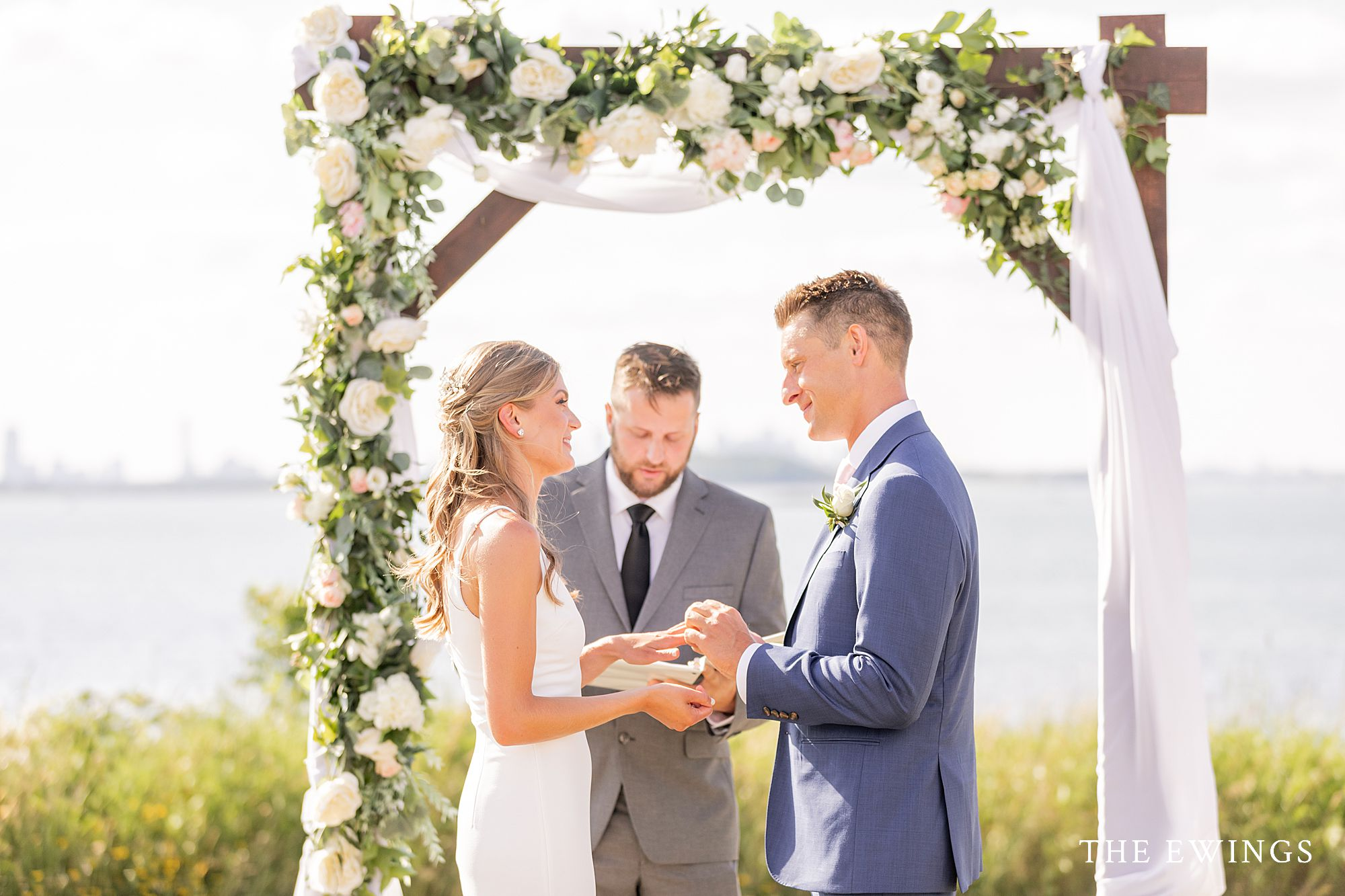 Who knew Quincy had such a gorgeous oceanfront wedding location for an intimate wedding?