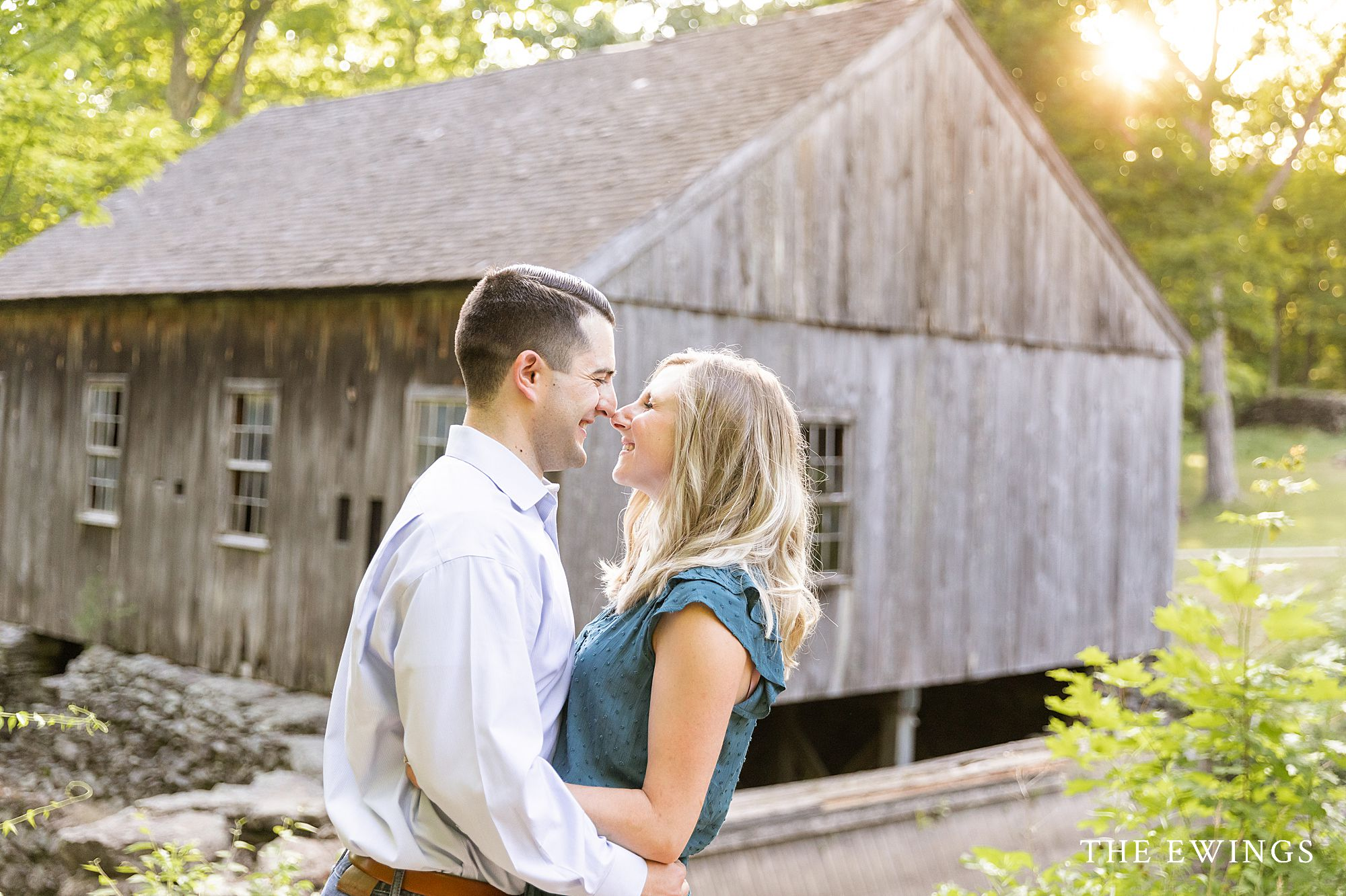 Moore State Park is a gorgeous location for an engagement session in the Central Mass Worcester area.