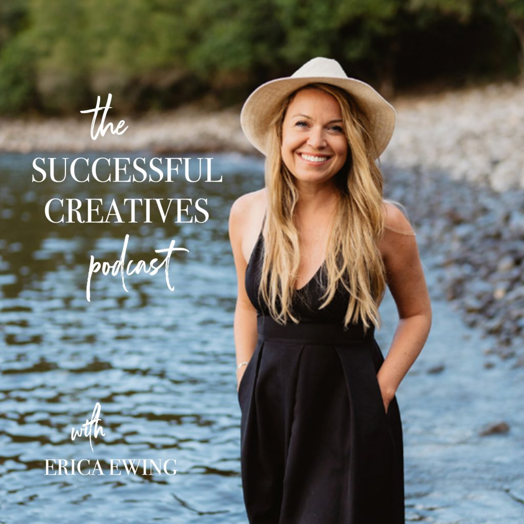 the successful creatives podcast was created to support photographers in creating profitable businesses that support a life that dreams are made of. By Boston photographer Erica Ewing of The Ewings Photography Studio