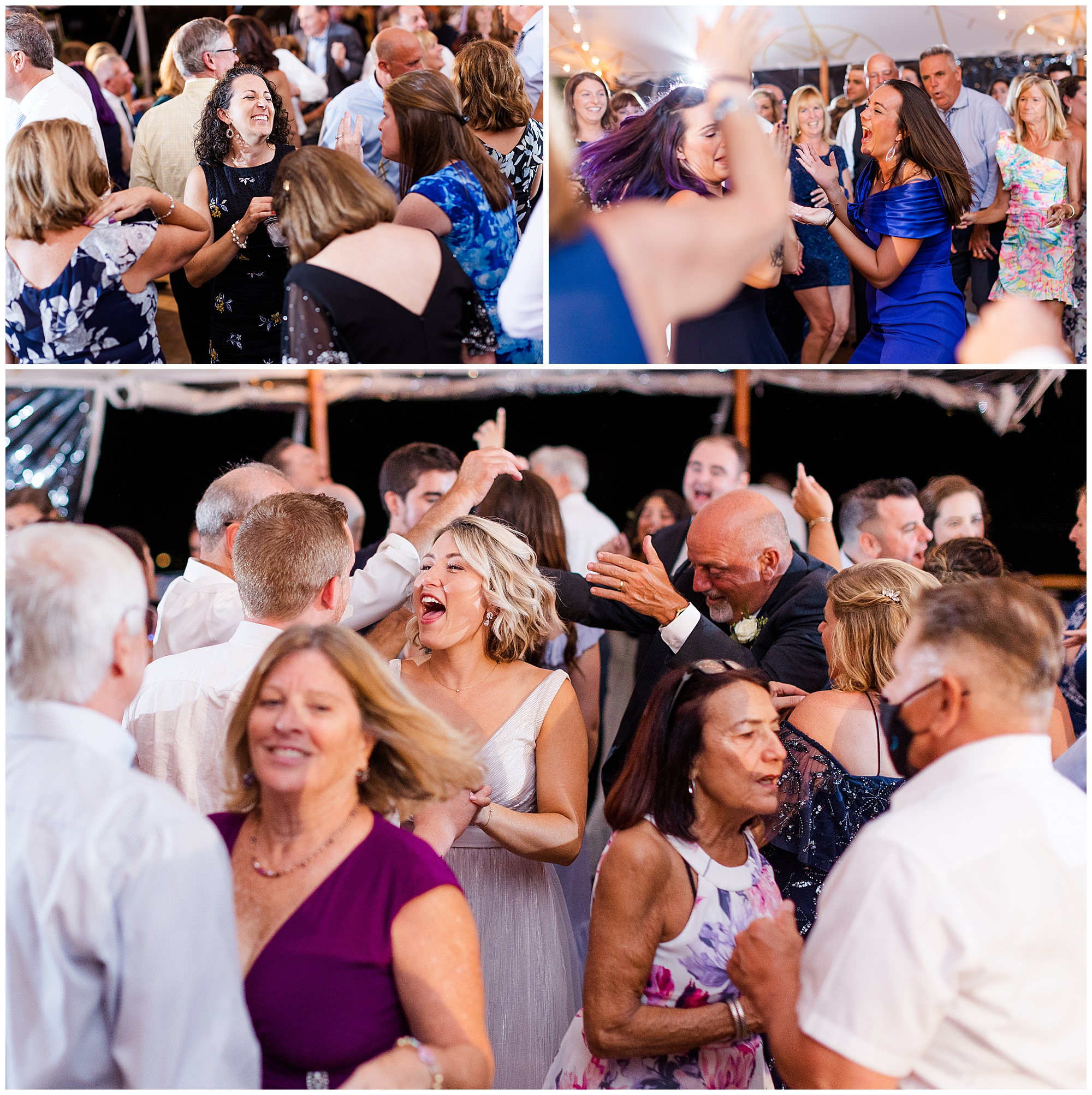 party dancing New Hampshire wedding The Ewings photo video