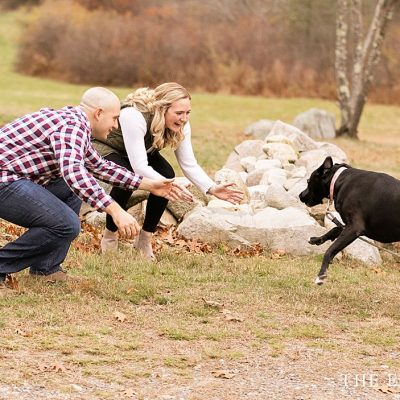 Engagement session pictures with dog inspiration!