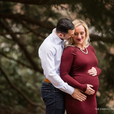 Concord MA maternity & newborn photographers The Ewings create pregnancy pictures for this expectant couple.