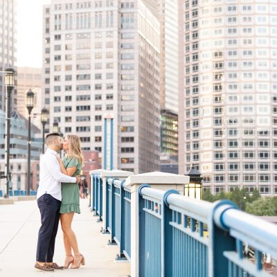 The Seaport Boston is the best area for engagement pictures, with both city and building backdrops and also the waterfront and Boston Harbor.